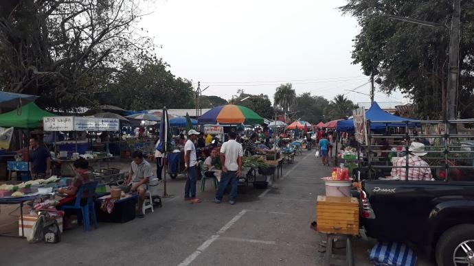 Kantharawhichai market Maha Sarakham