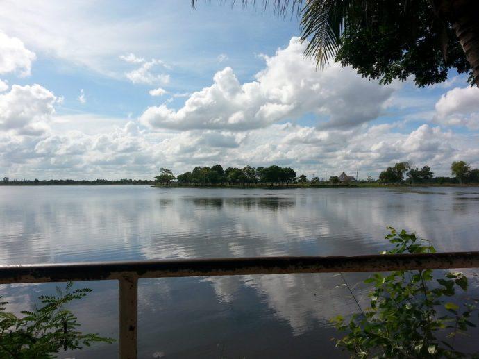 Nong bua reservoir Kantarawichai